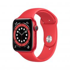 RELOJ APPLE WATCH SERIES 6 GPS 40MM ALUM.ROJO C.SPORT ALUMIN. CASE WITH RED SPORT BAND M00A3TY/A