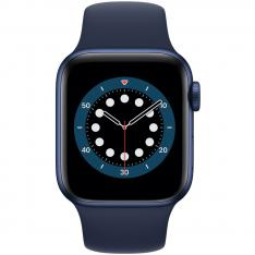 RELOJ APPLE WATCH SERIES 6 GPS/CELL 44MM BLUE ALUMINIUM CASE WITH DEEP NAVY SPORT BAND/GPS/CELL M09A3TY/A