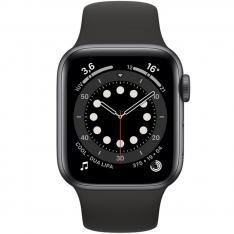 RELOJ APPLE WATCH SERIES 6 GPS/CELL 40MM SPACE GRAY ALUMINIUM CASE WITH BLACK SPORT BAND/GPS/CELL M06P3TY/A