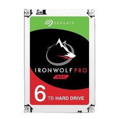 "DISCO DURO INTERNO HDD SEAGATE IRONWOLF PRO NAS ST6000NE000 6TB 3.5"" 7200RPM/ 256MB/ SATA III"