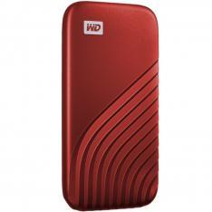 DISCO DURO EXTERNO HDD WD WESTERN DIGITAL 1TB MY PASSPORT SSD USB TIPO C RED