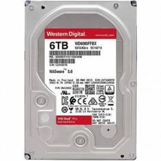 """DISCO DURO INTERNO HDD WD WESTERN DIGITAL NAS RED PRO WD6003FFBX 6TB 3.5"""" SATA 3 7200RPM 256MB"""