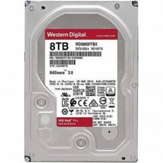"""DISCO DURO INTERNO HDD WD WESTERN DIGITAL NAS RED PRO WD8003FFBX 8TB 3.5"""" SATA 3 7200RPM 256MB"""