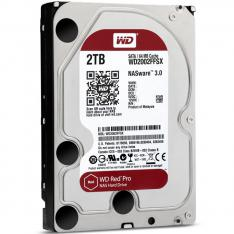 "DISCO DURO INTERNO HDD WD WESTERN DIGITAL NAS RED PRO WD2002FFSX 2TB 3.5"" SATA 3 7200RPM 64MB"