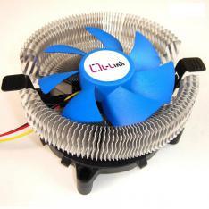 VENTILADOR DISIPADOR CPU COMPACTO L-LINK 57MM ALTURA/COMPATIBILIDAD MULTISOCKET LGA1156 LGA775