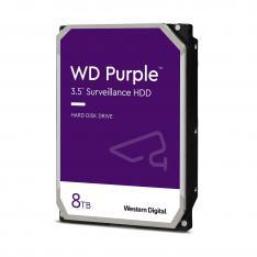 "DISCO DURO INTERNO HDD WD WESTERN DIGITAL PURPLE WD84PURZ 8TB 3.5"" SATA3 5400RPM 128MB"