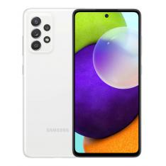 "TELEFONO MOVIL SMARTPHONE SAMSUNG GALAXY A52 BLANCO 6.5""/ 256GB ROM/ 8GB RAM/ 64+12+5+5MPX/ 32MPX/ DUAL SIM/ 4500 MAH"