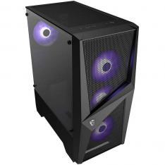 TORRE ATX MSI MAG FORGE 101M RGB / LATERAL CRISTAL TEMPLADO / NEGRO