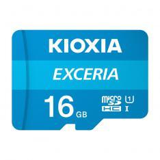 TARJETA MEMORIA MICRO SECURE DIGITAL SD KIOXIA 16GB EXCERIA UHS-I C10 R100 CON ADAPTADOR