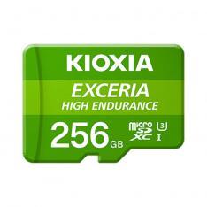 TARJETA MEMORIA MICRO SECURE DIGITAL SD KIOXIA 256GB EXCERIA HIGH ENDURANCE UHS-I C10 R98 CON ADAPTADOR