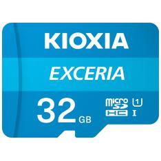 TARJETA MEMORIA MICRO SECURE DIGITAL SD KIOXIA 32GB EXCERIA UHS-I C10 R100 CON ADAPTADOR