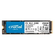 DISCO DURO INTERNO SOLIDO SSD CRUCIAL P2 CT250P2SSD8  250GB M.2 NVME
