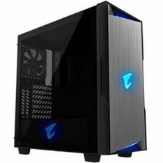 CAJA GAMING GIGABYTE AC300G ATX 2XUSB3.0 1XUSBC RGB S/F NEGRO