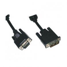 CABLE EQUIP DVI-A MACHO - VGA  MACHO - MACHO 1.8M