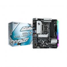 PLACA BASE ASROCK INTEL LGA 1200 STEEL LEGEND B560M DDR4X4 128GB HDMI MICRO ATX