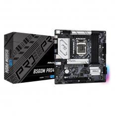 PLACA BASE ASROCK INTEL LGA 1200 B560M PRO4 DDR4X4 128 GB HDMI MICRO ATX