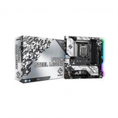 PLACA BASE ASROCK INTEL LGA 1200 STEEL LEGEND B460M DDR4X4 128GB HDMI MICRO ATX