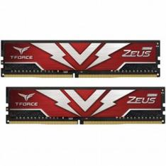 MEMORIA RAM DDR4 32GB 2X16GB 2666MHz TEAMGROUP ZEUS/ ROJO/ CL 19/ 1.2V