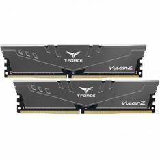 MEMORIA RAM DDR4 32GB 2X16GB 3200MHz TEAMGROUP VULCAN Z/ GRIS/ CL 16/ 1.35V