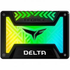 "DISCO DURO INTERNO 2.5"" SSD250GB SATA3 TEAMGROUP TFORCE DELTA RGB R: 560 MB/s W: 500 MB/s"