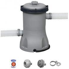 Bestway 58383 - Depuradora de Filtro Cartucho Tipo II 2.006 litros/hora Conexión 32 mm