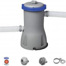 Bestway 58386 - Depuradora de Filtro Cartucho Tipo II 3028 litros/hora Conexión 32 mm
