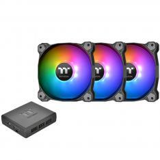 VENTILADOR 120X120 THERMALTAKE PURE PLUS 12 RGB TT 3-UDS PACK 3 UNIDADES/ VENTILADOR 120X120MM RGB/ 1500 RPM