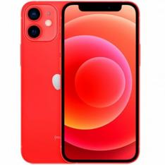 """APPLE IPHONE 12 MINI 64GB RED SIN CARGADOR/ SIN AURICULARES/ A14 BIONIC/ 12MPX/ 5.4"""""""