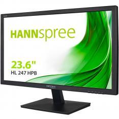 "MONITOR HANNS HL247HPB 236"""" 1920x1080 5MS VGA DVI HDMI ALTAVOCES NEGRO"