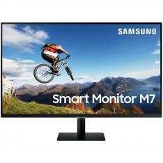 "MONITOR SMART LS32AM700URXEN 32"""" UHD 2XHDMI USB WIFI BT NEGRO"