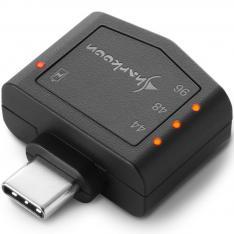 TARJETA DE SONIDO SHARKOON DAC PD USB-C