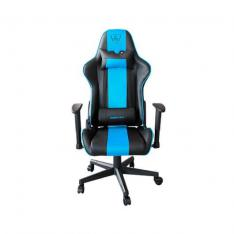 SILLA GAMING KEEP OUT RACING PRO BLUE TURQUOISE INCLUYE COJINES