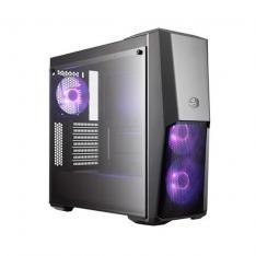 CAJA ORDENADOR GAMING ATX COOLERMASTER MASTERBOX MB500 CRISTAL TEMPLADO/ ATX/ VEN  RGB