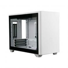 CAJA ORDENADOR MINI ITX COOLER MASTER MASTERBOX NR200P BLA CRISTAL TEMPLADO/RISER INCLUIDO/2XVENT 120MM INCLU