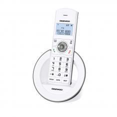 TELEFONO INALAMBRICO DECT DAEWOO DTD-1400 BLANCO/ MANOS LIBRES / LCD