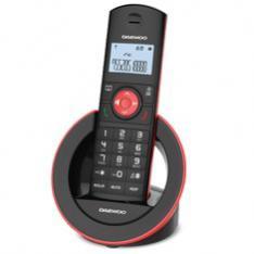 TELEFONO INALAMBRICO DECT DAEWOO DTD-1400 NEGRO/ MANOS LIBRES / LCD
