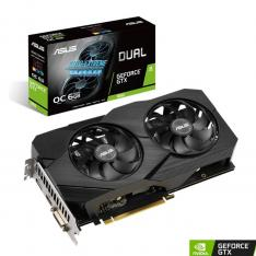 TARJETA GRAFICA ASUS NVIDIA DUAL GTX1660 SUPER O6G EVO 6GB GDDR6 DVI-D HDMI DISPLAY PORT
