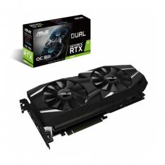 TARJETA GRAFICA ASUS NVIDIA DUAL-RTX2080-O8G 8GB GDDR6 HDMI DISPLAY PORT