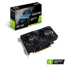 TARJETA GRÁFICA ASUS NVIDIA DUAL GTX1650-O4GD6-MINI 4GB GDDR6 DVI-D HDMI DISPLAY PORT