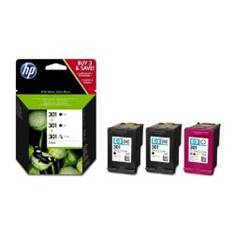 MULTIPACK HP E5Y87EE Nº301 2UND NEGRO + 1UND COLOR