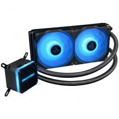 KIT REFRIGERACION LIQUIDA GAMING ENERMAX ELC-LMT240-RGB ALL IN ONE DOBLE VENTILADOR 12CM RGB