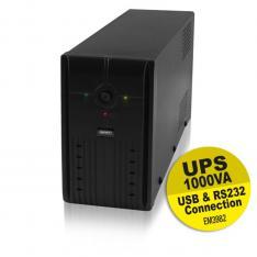 SAI EMINENT UPS 1000VA/600W/ RS232 + USB