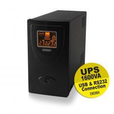 SAI EMINENT UPS 1600VA/900W/ RS232 + USB