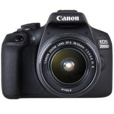 CAMARA DIGITAL REFLEX CANON EOS 2000D + 18-55 IS/ CMOS/ 24.1MP/ DIGIC 4+/ FULL HD/ 9 PUNTOS DE REFERENCIA/ WIFI/ NFC