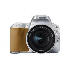 CAMARA DIGITAL REFLEX CANON EOS 200D + 18-55STM CMOS/ 24.2MP/ DIGIC 7/ 9 PUNTOS DE ENFOQUE/ PLATA