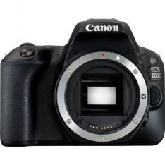CAMARA DIGITAL REFLEX CANON EOS 200D BODY (SOLO CUERPO) CMOS  24.2 MP  DIGIC 7  9 PUNTOS DE ENFOQUE  WIFI