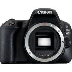 CAMARA DIGITAL REFLEX CANON EOS 200D BODY (SOLO CUERPO) CMOS/ 24.2 MP/ DIGIC 7/ 9 PUNTOS DE ENFOQUE/ WIFI