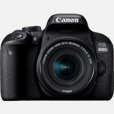 CAMARA DIGITAL REFLEX CANON EOS 800D 18-55 IS STM NEW/ CMOS/ 24.2MP/ DIGIC 7/ 45 PUNTOS DE ENFOQUE/ WIFI/ BLUETOOTH/ NFC