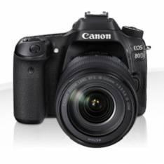 CAMARA DIGITAL REFLEX CANON EOS 80D EF 18-55 IS/ CMOS/ 25.8MP/ DIGIC 6/ 45 PUNTOS ENFOQUE/ NFC/ WIFI