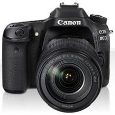 CAMARA DIGITAL REFLEX CANON EOS 80D + EF-S 18-135MM IS/ CMOS/ 25.8MP/ DIGIC 6/ 45 PUNTOS ENFOQUE/ NFC/ WIFI